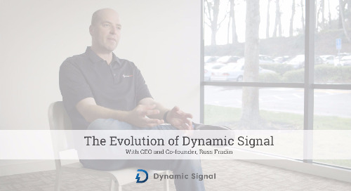 The Evolution of Dynamic Signal