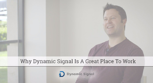Why Dynamic Signal Is A Great Place To Work