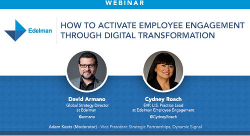 How To Activate Employee Engagement Through Digital Transformation