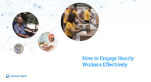 How to Engage Hourly Workers Effectively
