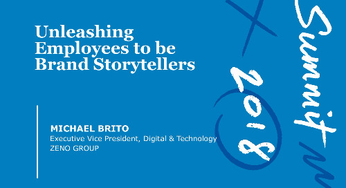 Unleashing Employees to Become Brand Storytellers (Slide Deck)
