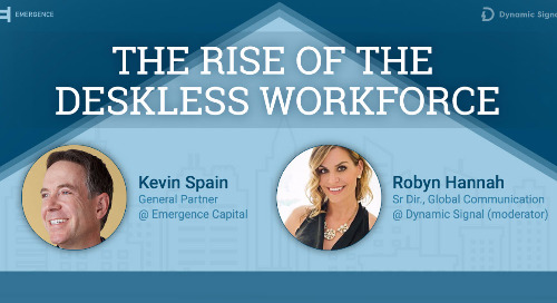 The Rise of the Deskless Workforce