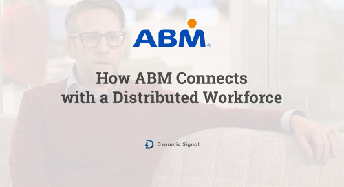 How ABM Connects with a Distributed Workforce