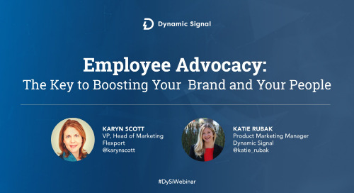 Employee Advocacy: The Key to Boosting Your Brand and Your People (Slide Presentation)