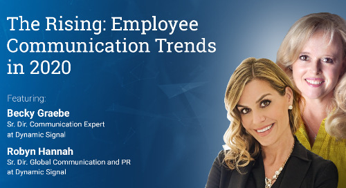 The Rising: Employee Communication Trends in 2020 (Webinar Recording)