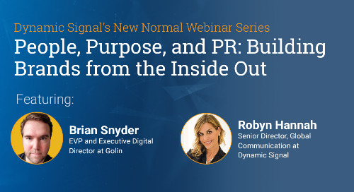 People, Purpose, and PR : Building Brands from the Inside Out