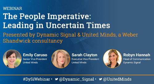 The People Imperative: Leading in Uncertain Times (Webinar Recording)