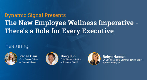 The New Employee Wellness Imperative (Webinar Recording)