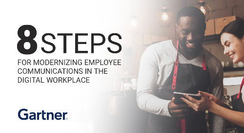 Eight Steps for Modernizing Employee Communications
