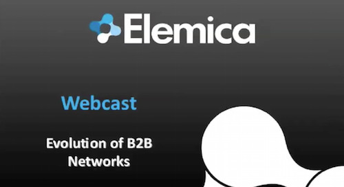 Evolution of B2B Networks (Webcast)