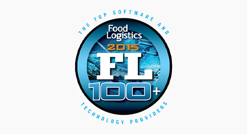 Elemica Named as Top Logistics IT Provider in Food Industry
