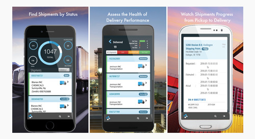 Elemica Introduces Track Mobile App for Logistics Visibility