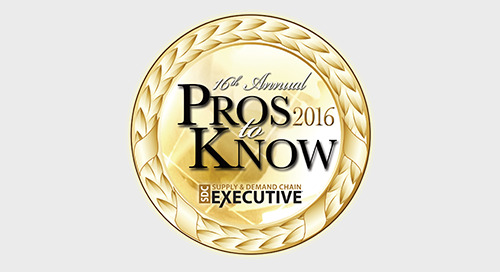 Three Elemica Executives Named Supply Chain Provider Pros to Know