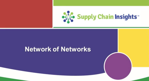 Elemica Featured in Supply Chain Insights Webinar