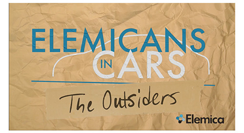 """Elemicans in Cars Talkin' Supply Chain"" Returns, Adding ""The Outsiders"""