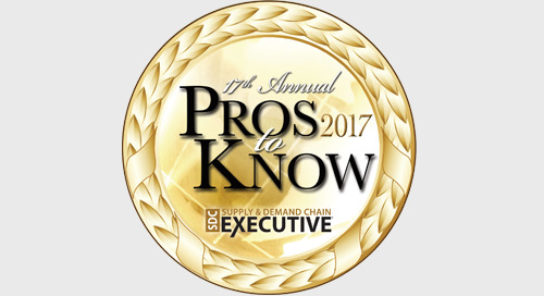 "Three Elemica Executives Named Supply Chain ""Pros to Know"""