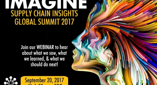 Recap of the 5th Annual Supply Chain Insights Global Summit