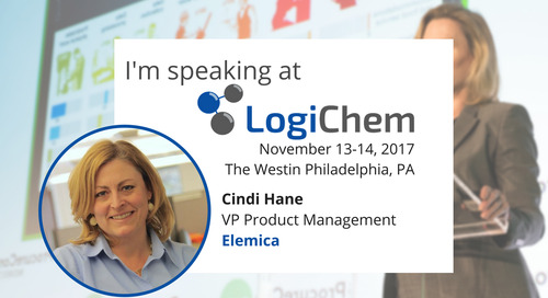Elemica Presents on Customer-Centric Supply Chains at Logichem 2017
