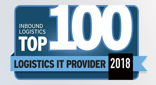 Elemica Named Inbound Logistics Top 100 Logistics IT Provider for 2018 for 10th Consecutive Year