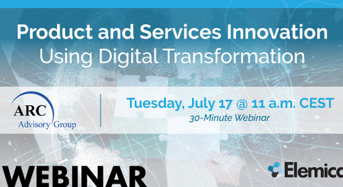 WEBINAR: Product and Services Innovation Using Digital Transformation
