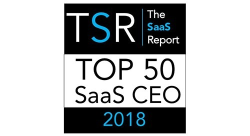Elemica CEO Named as a Top 50 SaaS CEO of 2018