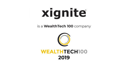 Xignite Named to The WealthTech 100 List