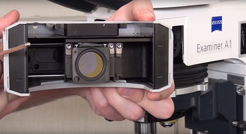 ZEISS Microscopy How-to: Install Filter Cubes in Your Fluorescence Microscope