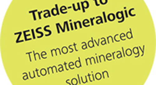 Announcing the Latest Advances in Automated Mineralogy