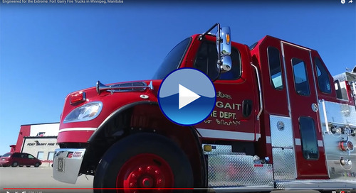 This Winnipeg company's fire trucks are delivered around the world