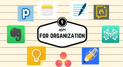 9 awesome apps to organize your thoughts