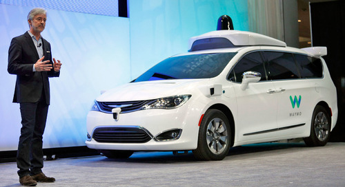Would you catch a ride in this driverless taxi?