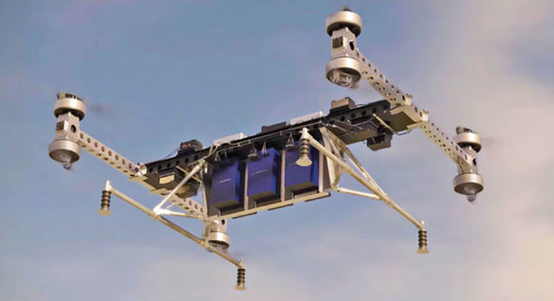 New drone can lift up to 500 pounds