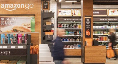 It's okay to leave without paying at this high tech convenience store