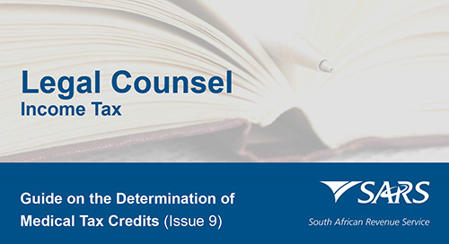 Guide on the Determination of Medical Tax Credits