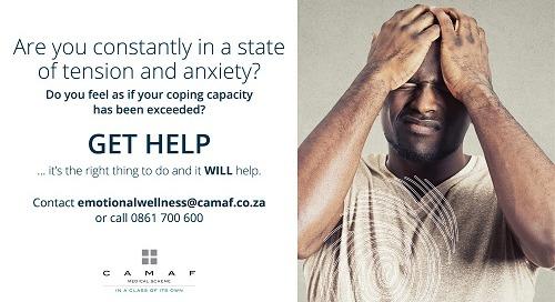 Feeling Tense & Anxious? Let CAMAF Help!