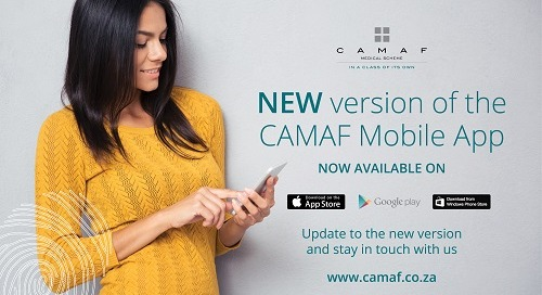 CAMAF Mobile App: New Version Out Now