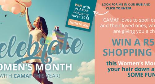 CAMAF #ShoppingSpree Women's Month Promotion!