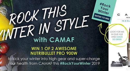 CAMAF #RockYourWinter 2019 Promo