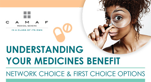 Medicine Benefit on Network & First Choice