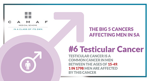 Men's Health in Movember: Testicular Cancer