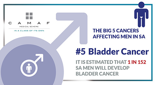 "Men's Health ""The Big 5 Cancers"" #5 Bladder Cancer"