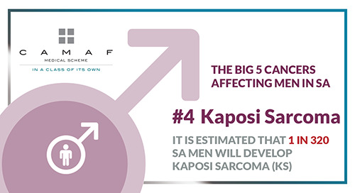 "Men's Health ""The Big 5 Cancers"" #4 Kaposi Sarcoma (KS) Cancer"