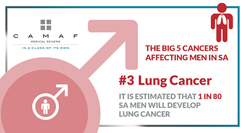 "Men's Health ""The Big 5 Cancers"" #3 Lung Cancer"