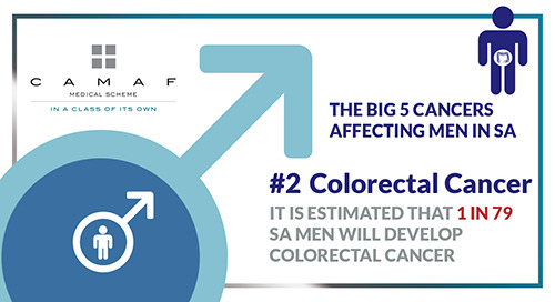 "Men's Health ""The Big 5 Cancers"" #2 Colorectal Cancer"