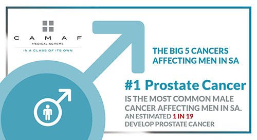 "Men's Health ""The Big 5 Cancers"" #1 Prostate Cancer"
