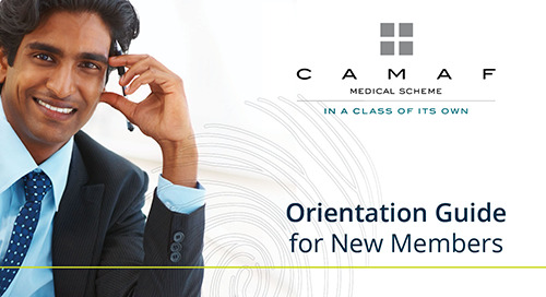 Welcome! CAMAF New Member Orientation Guide