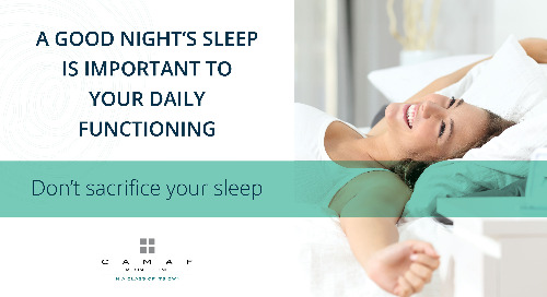 Don't Sacrifice Your Sleep