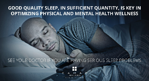 Serious Sleep Problems? Seek Help