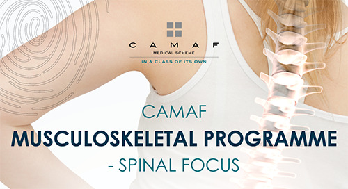Musculoskeletal Programme - Spinal Focus
