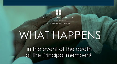 What Happens in the Event of the Death of the Principal Member?